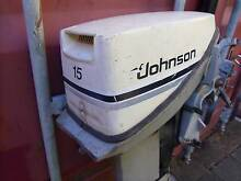 1984 Johnson 15 hp Outboard, Extra Long Shaft, Auxiliary or Sail Oxenford Gold Coast North Preview