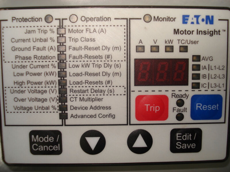 EATON 2100 MCC  With Motor Insight  & Size 1 Starter