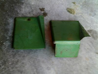 John Deere Mt Tractor Jd Right Left Side Cover Sheet Panel Tool Box