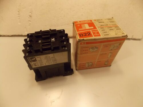 Lovato Type DP22 Contactor 115-600v Locked Rotor Amps 240A Resistive Amp 50