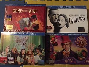 Limited edition bluray sets, unopened NEW