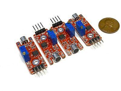 4 Pieces Arduino Ky-038 Voice Switch Corridor Module Sound Sensor Detector A19