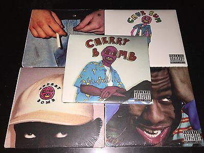 Tyler The Creator - Cherry Bomb Explicit 5CDs w/Alternative Covers New & Sealed