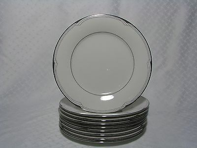 9 Noritake Sterling Cove Salad Plates 7720 Fine China