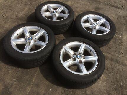 "BMW E46 Wheels 5x120 16"" Rims and Tyres 3Ser Bankstown Bankstown Area Preview"