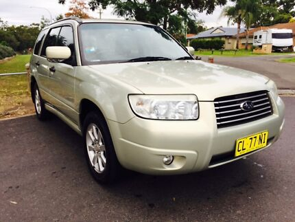 2005 SUBARU FORRESTER XS LUXURY MANUAL LONG REGO