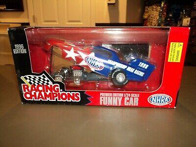 NEW 1:24 Die Cast Racing Champions Funny Car NHRA Championship Drag 1996 ()