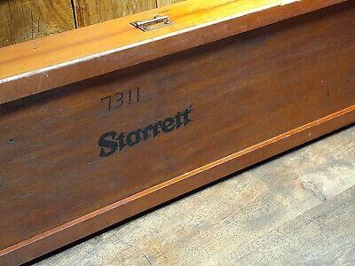 Starrett No.123-72 Master Vernier Caliper 44 Long Storage Box
