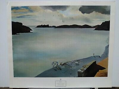 Rare Salvador Dali PORT LLIGAT NYGS c1952 28x34
