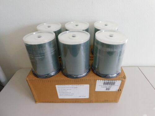 600 52x CD-R 80min 700MB Professional White Inkjet CD
