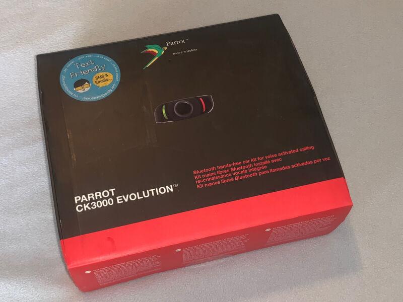 PARROT CK3000 Evolution Bluetooth Car Kit Hands Free - New Open Box