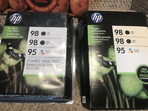 HP Ink - 98 and 95