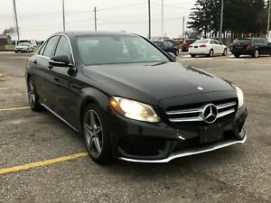 2015 Mercedes-Benz C-Class 300 / AWD / LEATHER / SUNROOF / NAVIG