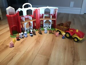 Little people farm set and tractor