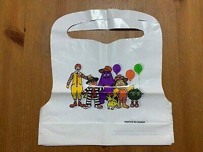 (4) NEW McDonalds & Friends Baby Bib Burp Cloth Plastic Rare Made in Canada
