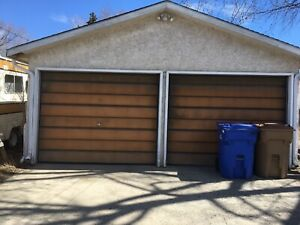 Garage with attached shop for rent