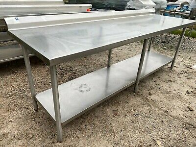Heavy Duty 96 X 30 Commercial Stainless Steel Kitchen Work Prep Table Nsf