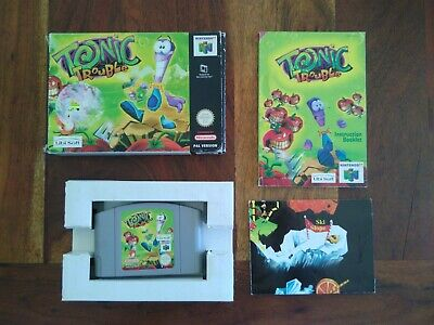 Tonic trouble N64 Complet PAL