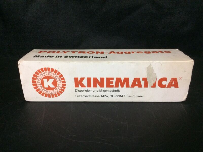 Kinematica Brinkmann Homogenizer Dispenser Polytron-Aggregate PT-DA 2120 2WMEC