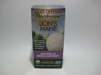 Host Defense Mushrooms Lion's Mane 60 Caps- FREE SHIPPING!!
