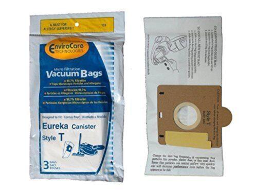 Eureka Style T Vacuum Bags (9 Pack) By Envirocare