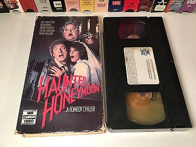 Haunted Honeymoon 80's Horror Comedy VHS 1986 Gene Wilder Gilda Radner