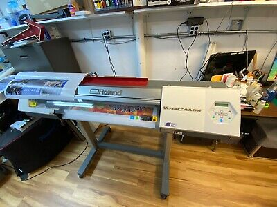 Roland Versacamm Vp-300i Vinyl Printer Cutter
