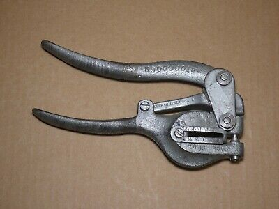 Roper Whitney No.16 Bench Punch 14 Diameter Punch Die Included