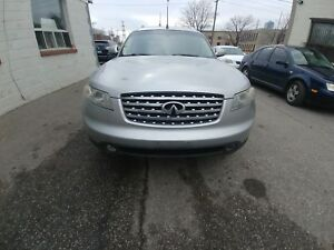 2004 Infiniti  fx45 technology CERTIFIED
