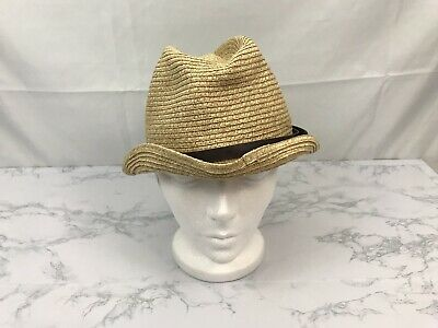 August Hat Company Womens Cloche Hat Natural Color  Sun Paper Hat