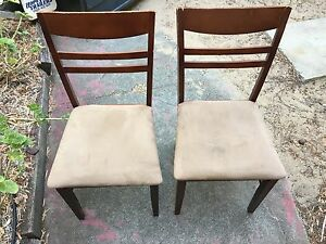 Free dining chairs Beaconsfield Fremantle Area Preview