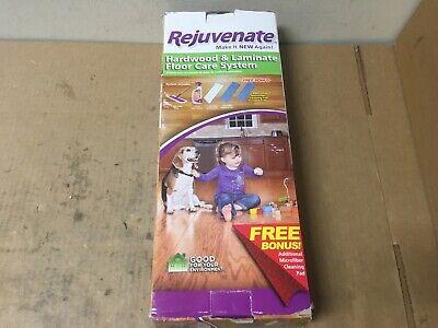 Rejuvenate Hardwood & Laminate Floor Care System  - SHELFPULL Floor Care Pads