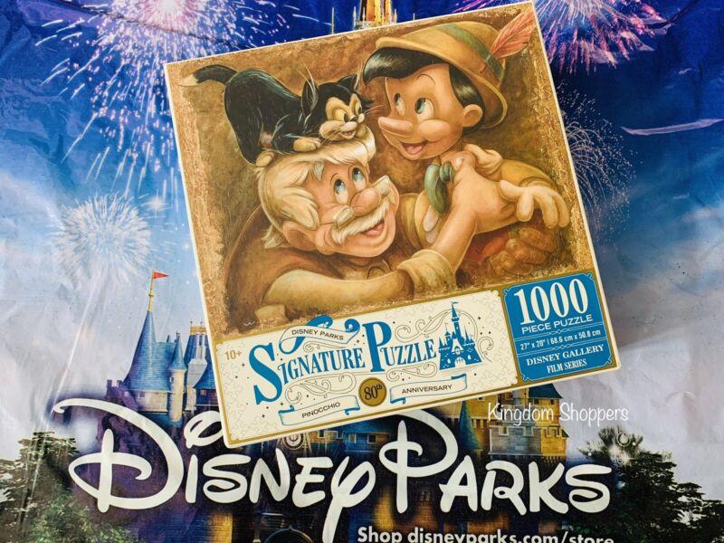 Disney Parks Pinocchio Figaro Geppetto 1000 Piece Signature Puzzle Darren Wilson