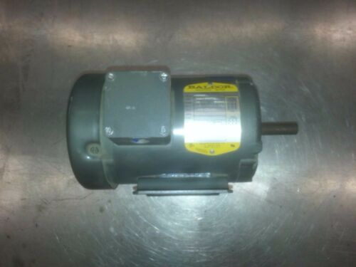 Baldor Industrial Beater Motor 3 Phase .5 Horsepower