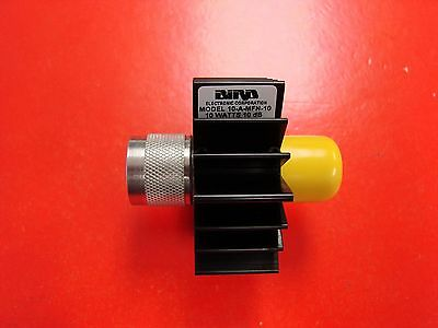 Bird Technologies 10dB 10W Fixed Attenuator DC-4GHz, 10-A-MFN-10, New in Box