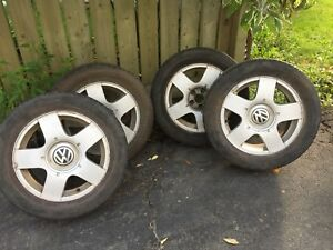 VW Aluminum Winter Rims