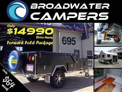 New! Forward Folding Off road Camper Trailer Hard Floor