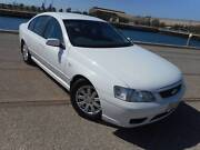 2005 Ford BF Dual Fuel Futura Sedan ECONOMICAL Rosewater Port Adelaide Area Preview