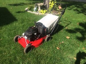Toro commercial mower with drive and bag Kawasaki engine