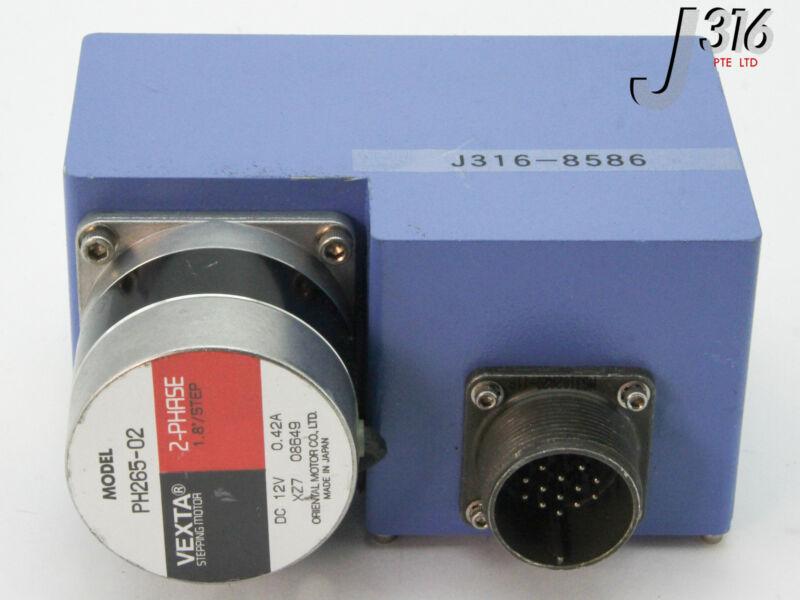 8586 NIHON MILLIPORE THROTTLE GATE VALVE CONTROL BOX W/ PH265-02 MDVHX-100B-P