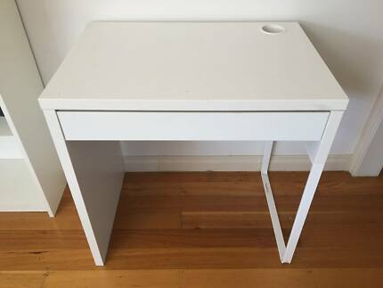 IKEA Micke White Office Desk