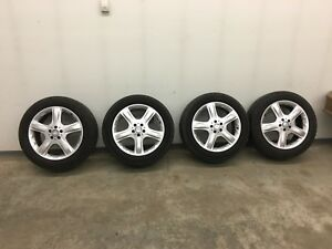 Mercedes 255/50/19 ML550 wheel set