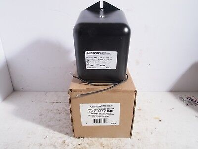 Allanson Ignition Transformer 911-104e Sunray New In Box Oil Furnace