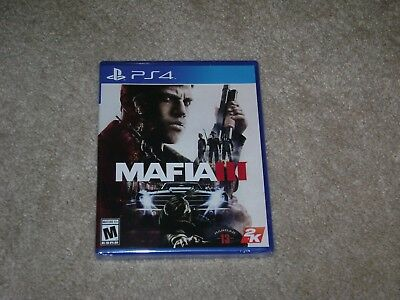 MAFIA III....PS4....****SEALED****BRAND NEW****!!!!! segunda mano  Embacar hacia Argentina