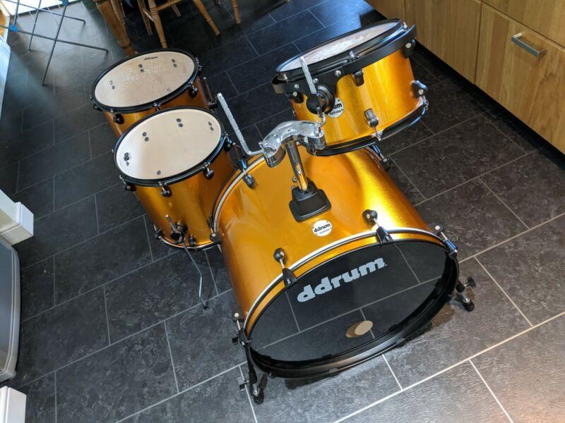 DDrum Journeyman Rambler Shell Pack Drum Kit