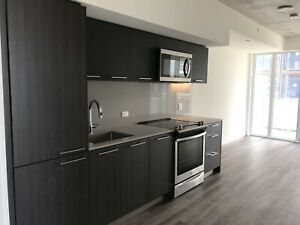 New! 2 bed 2 bath at queen and Broadview avail immediately