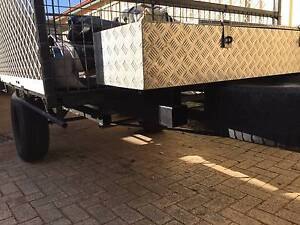 Heavy Duty - Good condition - Removable sides trailer Bicton Melville Area Preview