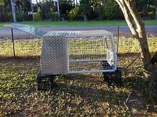back of ute dog cage with box Humpty Doo Litchfield Area Preview