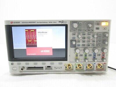 Keysight Technologies Msox3034t Mixed Signal Oscilloscope 350 Mhz 4 Analog 16 Ch