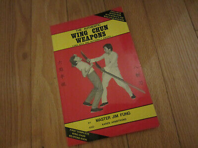 NM The Authentic Wing Chun Weapons Long Pole & Butterfly Knives Book Jim Fung